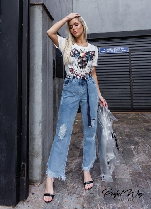 calça jeans LISA PERFECT WAY