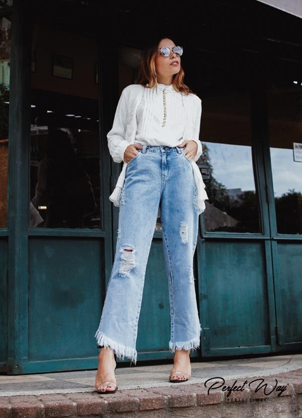 calça jeans LISA - PERFECT WAY