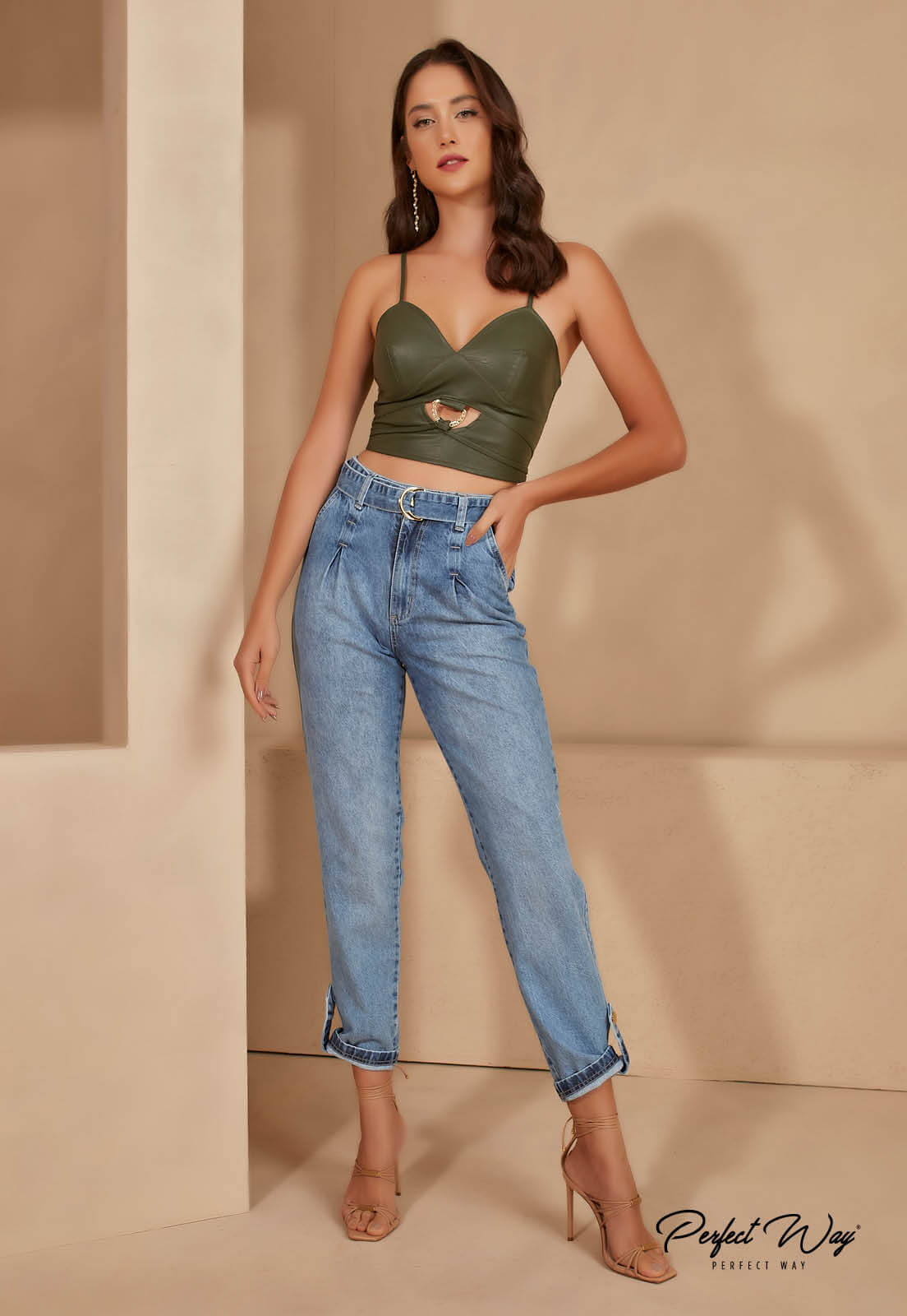 top cropped sintetico PERFECT WAY