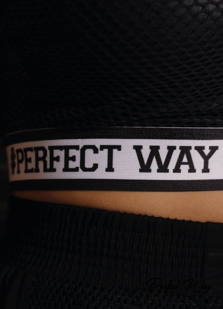 CROPPED RECORTE De TELA E ELASTICO PERSONALIZADO PERFECT WAY