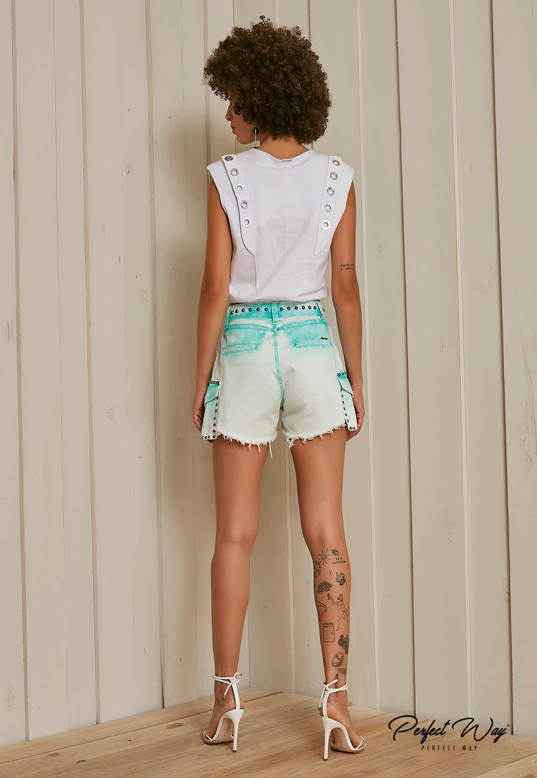 SHORTS JEANS  PERFECT WAY
