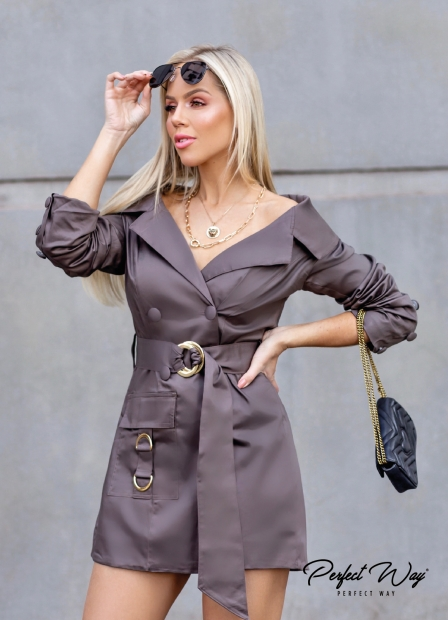 Perfect Way -  CASACO TRENCH COACH COM ABOTAMENTO FRONTAL