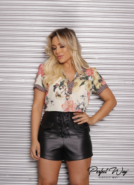 Perfect Way - CROPPED EST. EXC. CAMISA MC