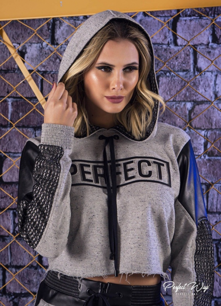 Perfect Way - CROPPED COM RECORTE NA MANGA + ESTAMPA EXCLUSIVA