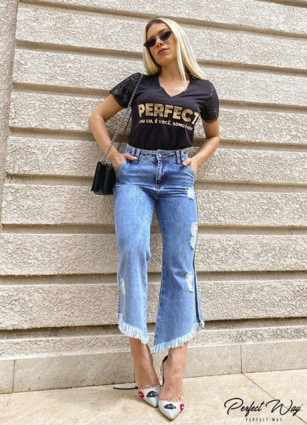 Perfect Way - CALÇA JEANS