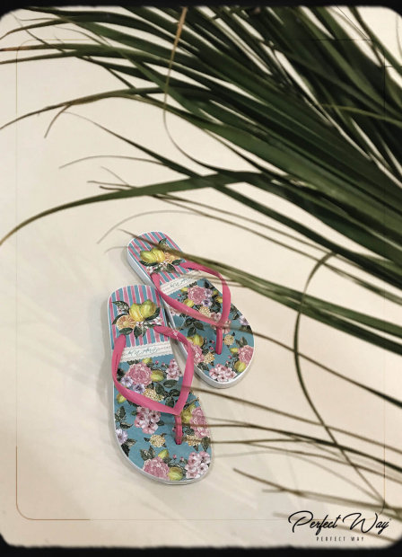 Perfect Way - chinelo estampa exclusiva floral