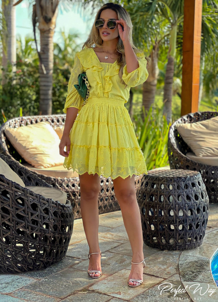 Perfect Way - VESTIDO SOLTO CURTO