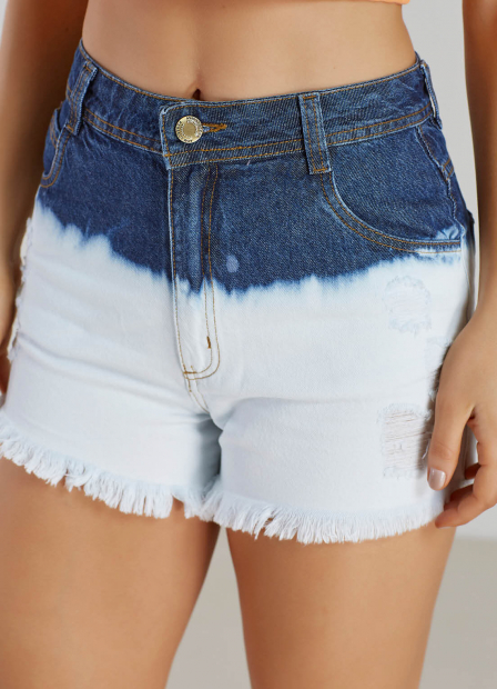 Perfect Way - shorts jeans degrade