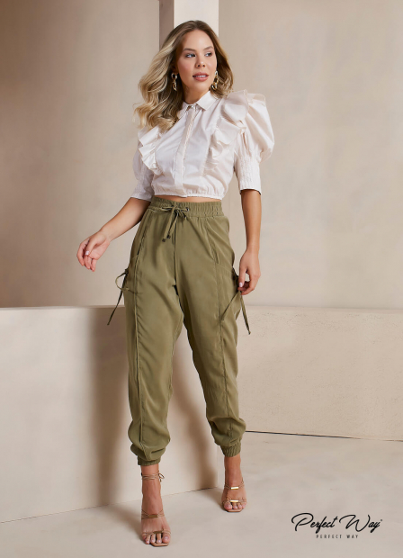 Perfect Way - CAMISA CROPPED
