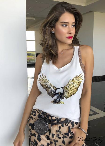 Perfect Way - REGATA ESTAMPA EXCLUSIVA + TOP RENDA