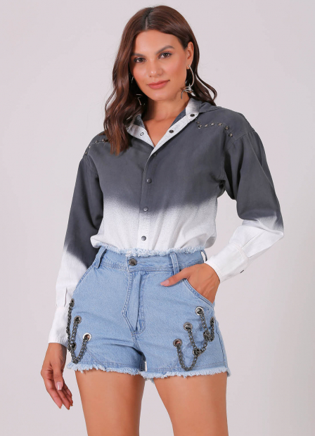 Perfect Way - camisa OVERSIZE tie dye