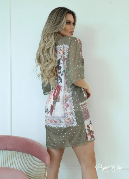 Perfect Way - KIMONO ESTAMPA EXCLUSIVA